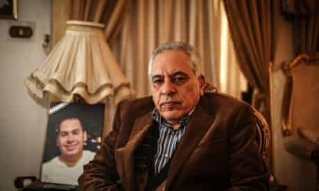 Gamal Siam, whose son Sherif, a telecoms engineer and life coach, died in the van.