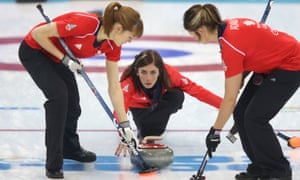 Great Britain's curlers