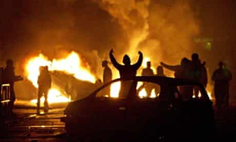 After six nights of rioting, the troubled banlieue of Clichy-sous-Bois, November 2005.