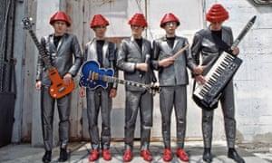 Devo … Are they not men? The Akron eccentrics in Los Angeles in 1980.