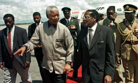 Mandela amd Mugabe