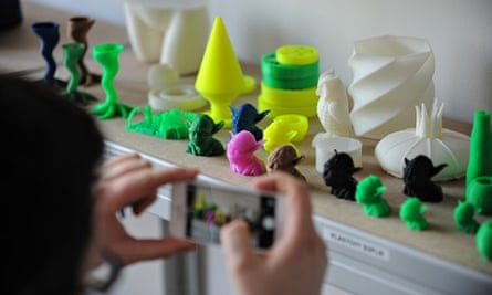 Objects made using a 3D printer