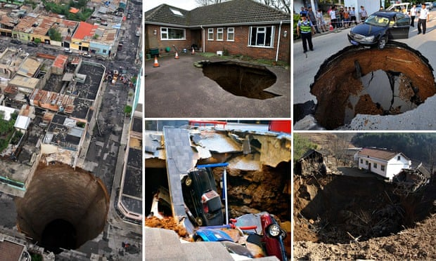 Are humans causing more sinkholes? | Environment | The Guardian