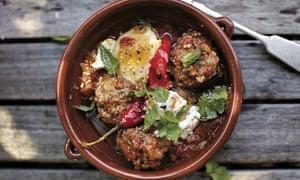 April Bloomfield's lamb meatballs