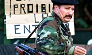 Jorge Briceno, commander of the Revolutionary Armed Forces of Colombia (Farc).