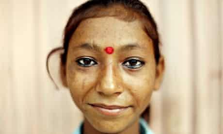 teen girl nepal