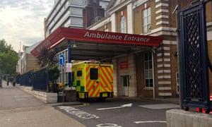 Ambulance Entrance, King's College Hospital