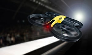 Fendi's 'Drone Cam' in action on the catwalk