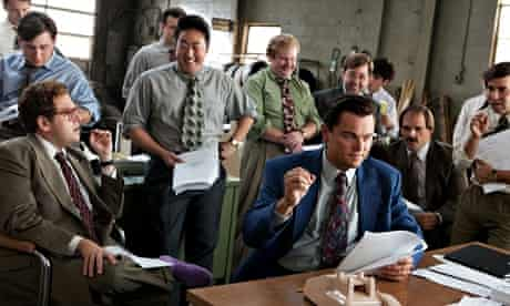 Stockbrokers depicted in The Wolf of Wall Street