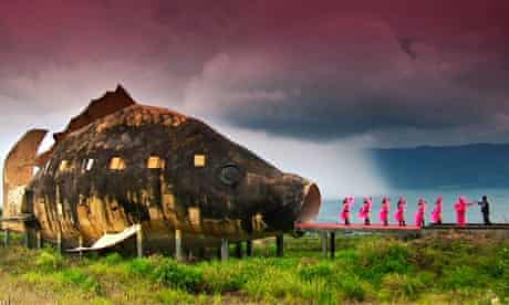 Atrocity exhibition: a scene from Oscar-nominated documentary The Act of Killing in which Indonesia'