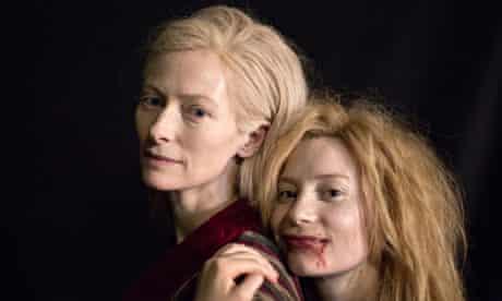 Tilda Swinton and Mia Wasikowska, in Jim Jarmusch's Only Lovers Left Alive