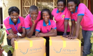 Afripads staff