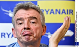 Ryanair boss Michasel O'Leary