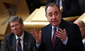 Salmond, irst Minister's Questions