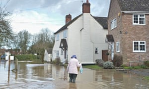 UK suffers wettest winter on record