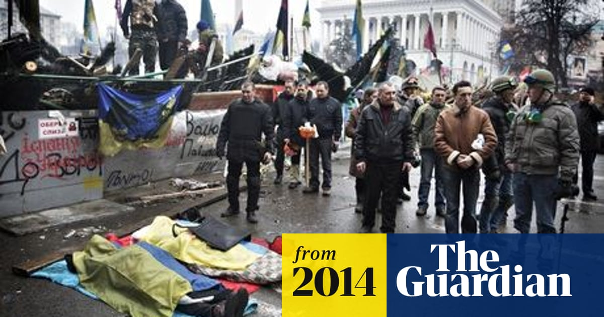 Snipers stalk protesters in Ukraine as Kiev hotel becomes