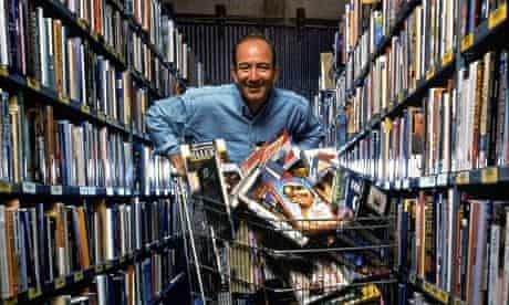Jeff Bezos, boss of Amazon: on course to becoming the biggest book publisher in the world.