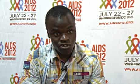 Paul Semugoma from the Global Forum on MSM and HIV talks about stigma and discrimination in his home
