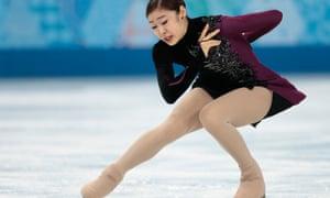 Yuna Kim: technically flawless.