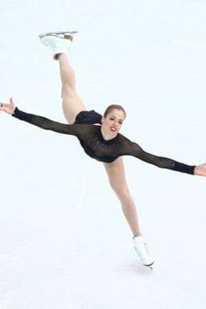 Carolina Kostner won bronze.