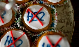 Church Fenton Says No To HS2 cakes
