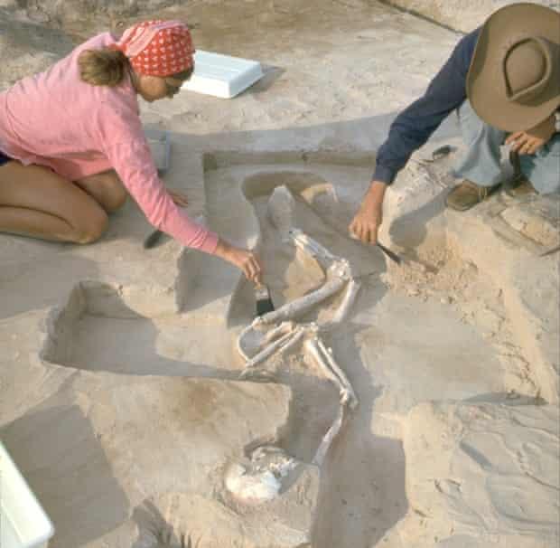 Mungo man excavation