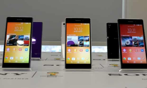 Sony Xperia Z2 android smartphone