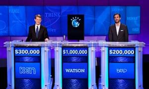 Jeopardy is won my a machine