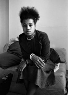 Neneh Cherry in a squat on Ladbroke Grove, London 1981.