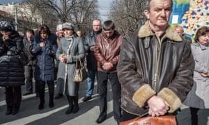 Prayers in Lviv