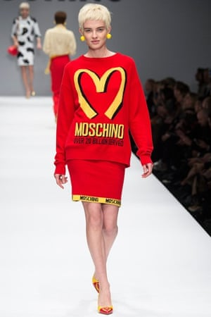 Moschino AW14: Jeremy Scott Moschino