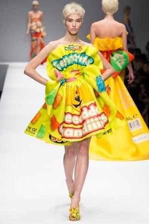 Moschino AW14: Jeremy Scott for Moschino - Gummi bear dress