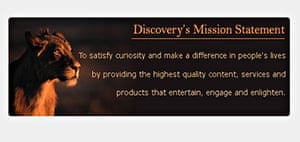 Discover Channel mission statement