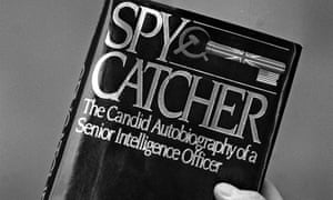 Front cover of Spycatcher