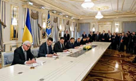 Ukraine peace deal