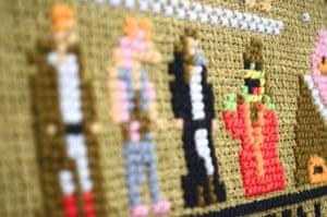 It forms the centrepiece of British designer Aled Lewis's Such Pixels exhibition in LA