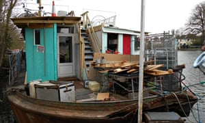 A 'Thames slum'