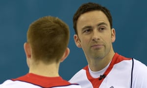 David Murdoch, skip of the Great Britain curling team, after losing 9-3 to Canada in the gold medal match.