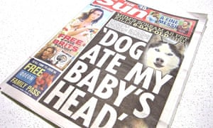 The Sun's cover story about the death of six-day-old Eliza-Mae Mullane