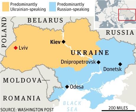 Western Ukraine Whereas Russian Is 107
