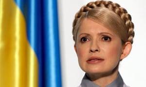 Former Ukrainian Prime minister and opposition leader Yulia Tymoshenko.