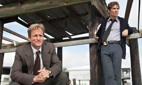 True Detective, starring Woody Harrelson as Martin Hart and Matthew McConaughey as Rustin Cohle