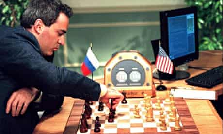Garry Kasparov versus Deep Blue in 1997