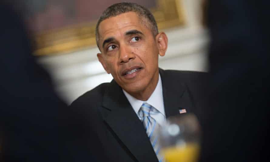 Barack Obama promotes his minimum wage increase.