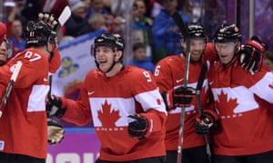 Team Canada: joyous.