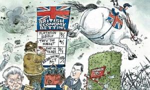 David Simonds cartoon on British economy