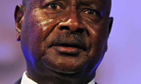 Prsident Yoweri Museveni of Uganda