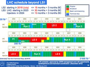 LHC/CERN Beyond LS1