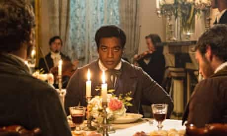 Chiwetel Ejiofor in a still from 12 Years A Slave