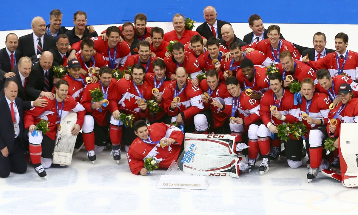 Olympic men's ice hockey gold medal game: Canada 3-0 ...